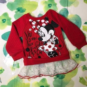 Disney Minnie Mouse Long Sleeve T-Shirt
